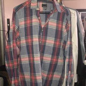 H&M Shirts - Plaid button down